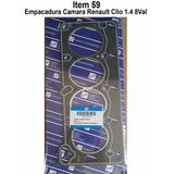 Empacadura Cámara Renault Clio/ 19/ Energy 1.4 8valv Amianto