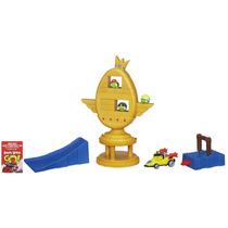 Angry Birds Go Jenga Trophy Copa Challenge Hasbro Rovio