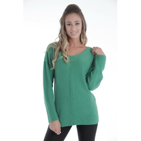 Sweater De Mujer Escote V Largo,vanlon. Calidad Y Suavidad