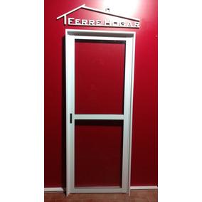puerta aluminio x vidrio entero mm cerradura prive