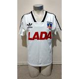 Camiseta Colo Colo 1991 Titular Y Suplente Conmemorativa