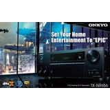 Receptor Teatro Onkyo Tx-nr656 , Bluetooth , Airplay , 170w