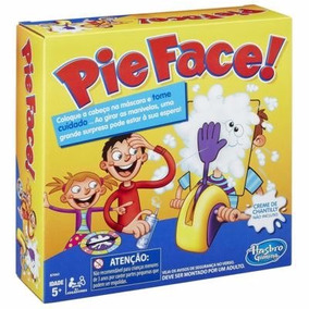 Jogo Pie Face! - Hasbro Torta Na Cara Original E Lacrado