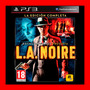 L.a. Noire The Complete Edition Ps3