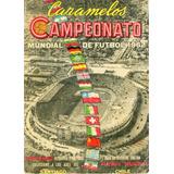 Álbum Campeonato Mundial De Fútbol Chile 1962 - Digital Pdf