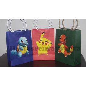 Bolsita Para Dulces Pokemon