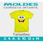 Modelagem Camisetas Infantis + Curso Corte E Costura