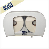 Dispensador Papel Higienico Elite Duplex 50/100mt Blanco
