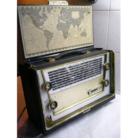 Radio Rca Victor Strato-world 1-mbt6 All-transistor 1959