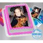 Foto Torta, Lamina Comestible + Funda De Celular