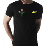 Camisa Valentino Rossi Agv Monster Dainese 46 Vr46 Thedoctor