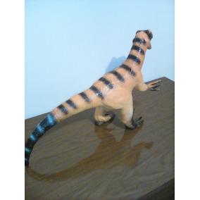 Dinossauro Velocirraptor Borracha