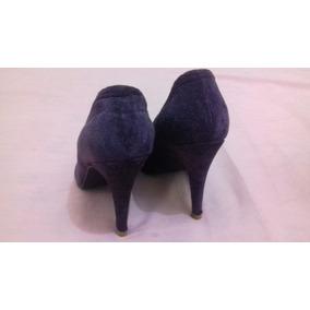 Sapato Importado Roxo Veludo