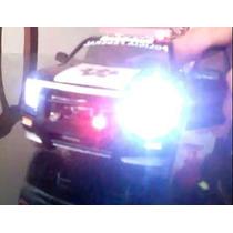 Policia Federal O Proteccion Federal Silverado Con Luz 1:24