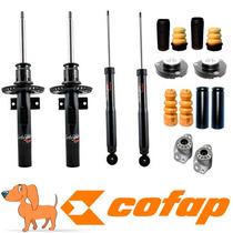 Kit 4 Amortecedores Polo Fox 2002 Em Diante + Kits + Coxim