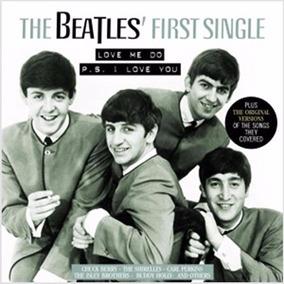 Lp The Beatles First Single 180g Lp Novo Usa