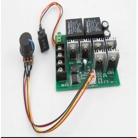 Pwm Controlador De Velocidade Com Avanço E Reverso 50v 60a
