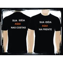 Camisetas Personalizadas Na Frente E Nas Costas Cha Bar Bebe
