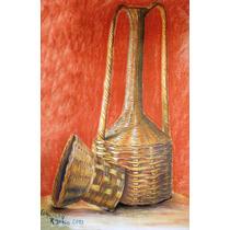 Canastos_dibujo Original Al Pastel Seco_70x50cm