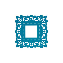 Marco Azul Cuadrado Decoracion Interiores Valchromat8mm