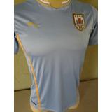 Camisa Puma Uruguai Juvenil G 12 Anos