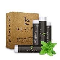 Lip Balm Menta Pack (4 Tubos) - Beauty De La Tierra 100% Nat