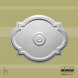 Roseta / Medalhão Em Poliestireno ( Isopor ) P/ Teto530x435