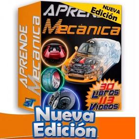 Mecanica Automotriz 24 Libros,113 Videos, Pack Tuning Motor