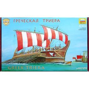Barco Zvezda P/armar Greek Triera 1/72 Kit 8514