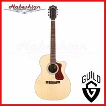 Guitarra Guild Electroacustica Om240ce + Funda - En Palermo