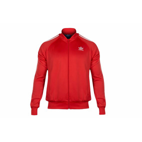 Campera adidas Sst Tt Roja Newsport
