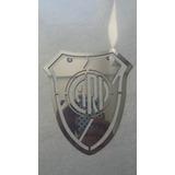 Escudo Logo Placa De River Plate Acero Inoxidable 150mm