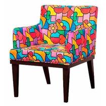 Kit 2 Cadeira Poltrona Decorativa Vitoria Romero Brito