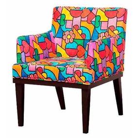Cadeira Poltrona Decorativa Vitoria Romero Breto Promoção