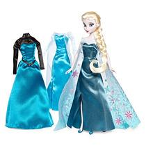 Elsa De Frozen Con Guardarropa Disney Collector