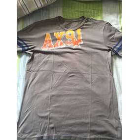 Camisa Armani Exchange Original! Pouco Uso! 1ed8fd4036a44
