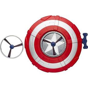 Escudo Lanca Disco Avengers Capitao America Hasbro