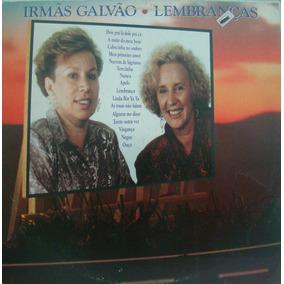 Lp Irmãs Galvão - Lembranças - Wea