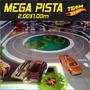 Mega Pista Liquida Natal P/ Brincar Carrinho Hot Wheels 2x1