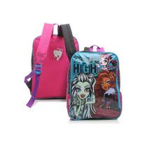 Mochila Infantil Costas Escolar Menina Monster High