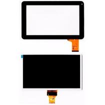 Tela Vidro Touch + Display Lcd Tablet Cce Tr92 9 Polegadas