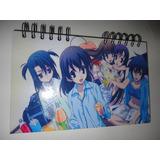 Cuadernos Personalizados 2 Materias Anime Rock Argollados