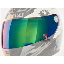 Viseira Shark S650 S700 S800 S900 Camaleão Serjão Motopeças