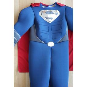 Disfraz Estilo Superman Vs Batman Nuevo De Lujo Niños