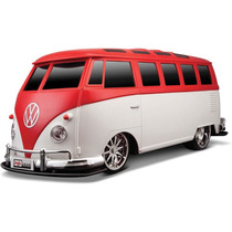 Carrinho Controle Remoto Volkswagen Van Samba 1:10 Maisto