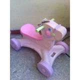 Pony Fisher Price Andadera Carrito Para Niña