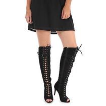 Summer Boots Feminina Lara - Preto