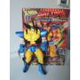 Wolverine Big Time - Toy Biz - Eletronico - Vintage Ed. 1996