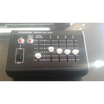 Mezclador Para 3 Microfonos Japones Marca Chinon Audio Mono