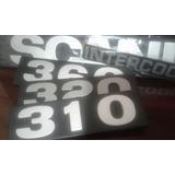 Insignias Emblema Scania Numero 310 320 360 112h 111 113!!!